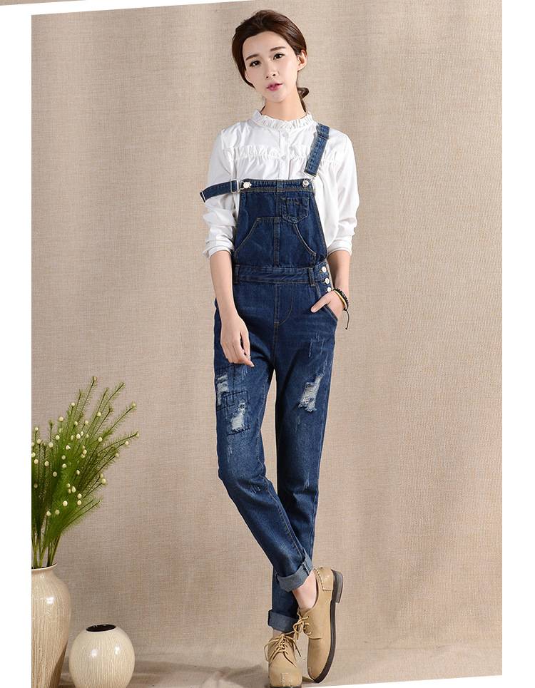 Popular Denim Jumpsuit Women-Buy Cheap Denim Jumpsuit Women lots ...