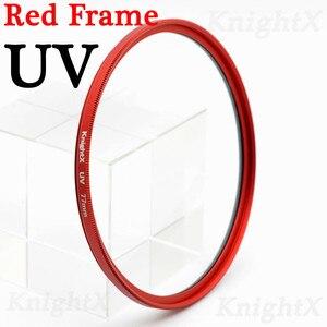 Image 3 - KnightX UV MCUV HD filter for sony nikon canon dslr camera lens accessories fotografie objectif p500 49 52 55 58 62 67 72 77 mm