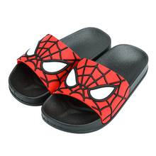 Summer Kids Slippers Comfortable Boys Cartoon Spiderman For Children Non slip Home Beach Shoes