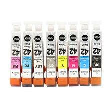 vilaxh CLI-42 Compatible Ink Cartridge For Canon CLI42 CLI 42 PIXMA Pro-100 100S Pro100 Printer цена
