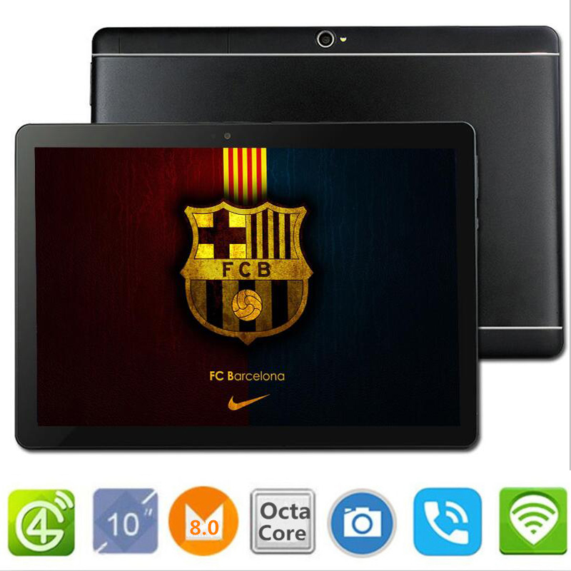 Free Shipping S109 Google 10.1 inch Original 3G 4G Phone Call Android 8.0 Octa Core IPS pc Tablet WiFi 8Mp 10 android tablet pc