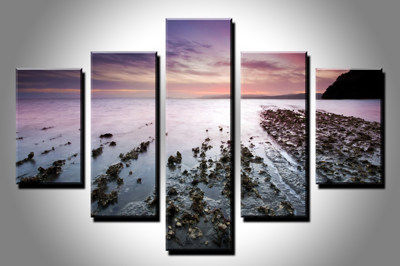5PC HD Canvas Print Home Decor Wall Art Painting Nature Scenery ...