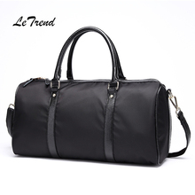 Letrend BusinessTravel Bag High-capacity Luggage Men's Handbags Women Trolley Carry On Suitcases Men Single Shoulder Bags