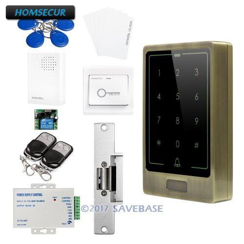 HOMSECUR Door Lock 125Khz RFID Access Control Set With Waterproof Design For Outdoor and Indoor UsageHOMSECUR Door Lock 125Khz RFID Access Control Set With Waterproof Design For Outdoor and Indoor Usage