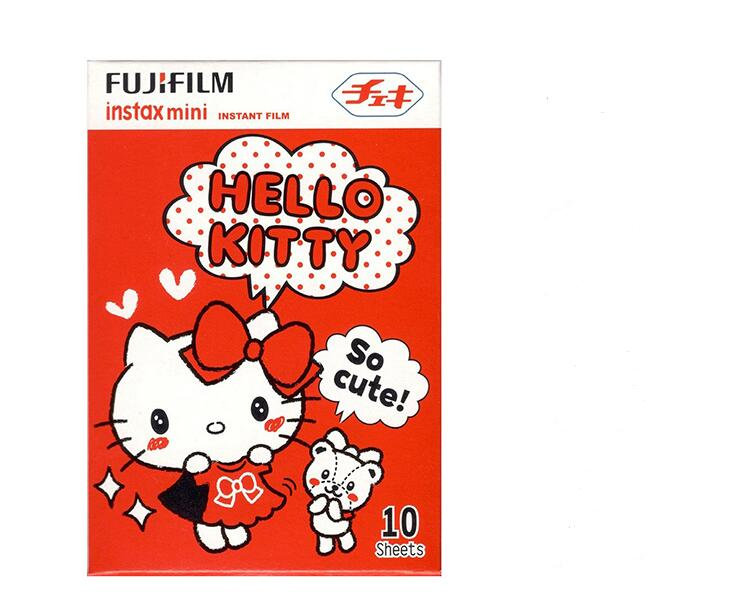 Original Fujifilm Instax Mini Fuji Film Kitty Shopping F Mini 8 7s 7 50s 50i 90 25 dw Share SP-1 Polaroid Instant Photo Camera