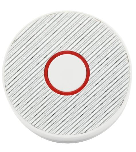 FDL Battery-Operated Smoke Sensor Wireless Smoke Detector Fire Alarm Sensor Home Alarm Home Security Indepedent Smoke Alarm