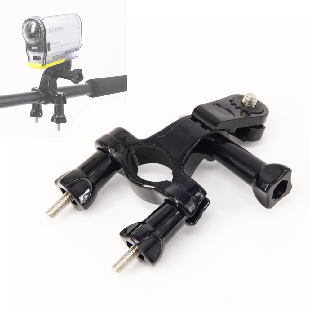 2015 bici bicicletta moto manubrio supporto supporto roll bar mount per Sony HDR-AS100V AS30V AS200V FDR-X1000V Sony Action Cam