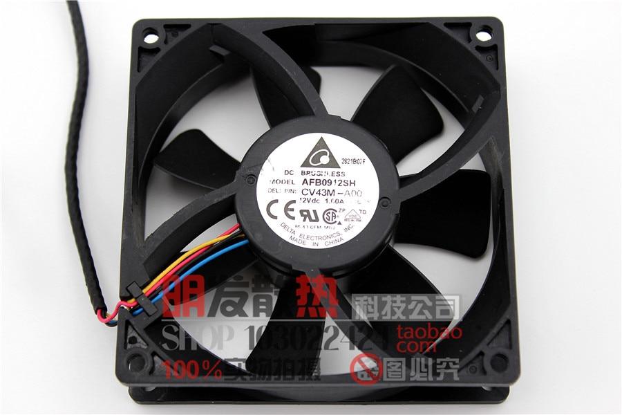 AFB0912SH 12V 1.00A 9025 9CM4 line PWM motherboard fan server