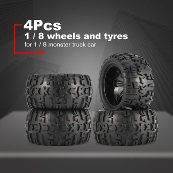 2020 4Pcs/2Pcs 150mm Wheel Rim and Tires for 1/8 Monster Truck Traxxas HSP HPI E-MAXX Savage Flux Racing RC Car Accessories HOT 2020 4pcs 2pcs 150mm wheel rim and tires for 1 8 monster truck traxxas hsp hpi e maxx savage flux racing rc car accessories hot