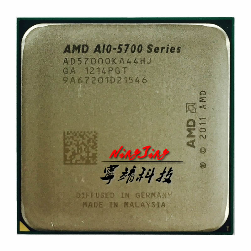 Четырехъядерный процессор AMD A10 5700 A10 5700k 3,4 ГГц Socket FM2 AD5700OKA44HJ CPU