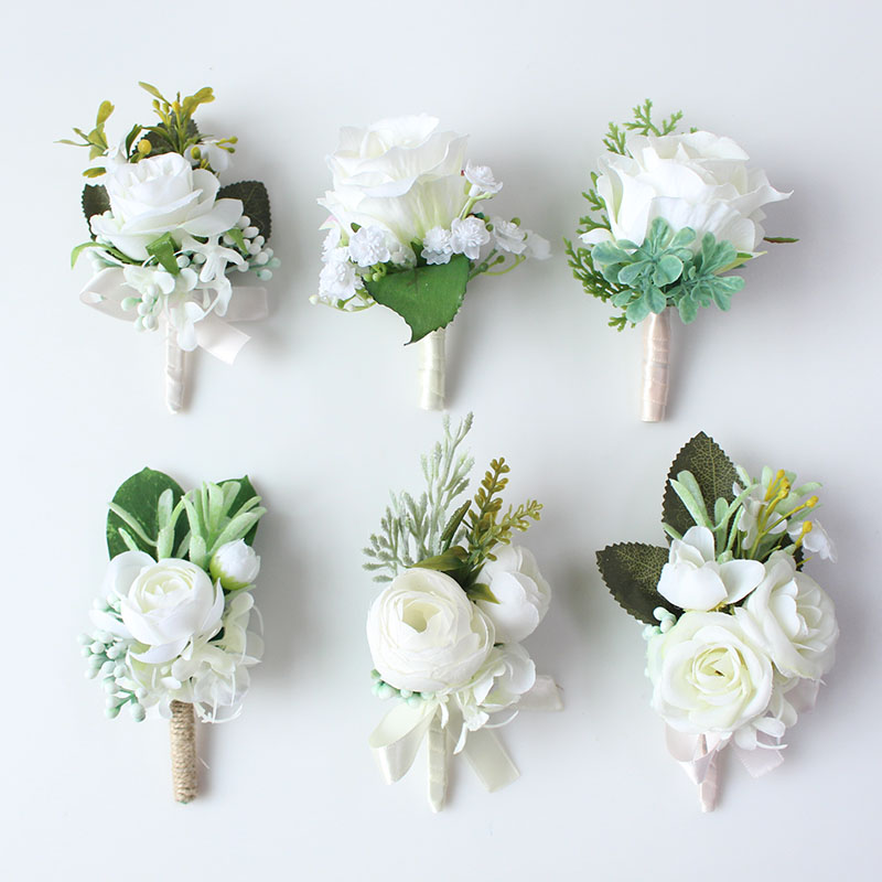 wedding boutonniere corsage groom  (1)