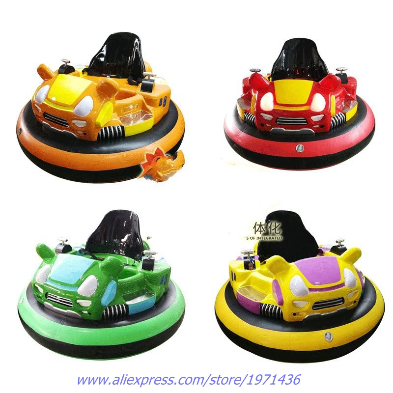 Outdoor Amusement Device Equipment Children Adults Laser Shooting Battle Games Inflatable Collision Cars Battery Bumper Cars