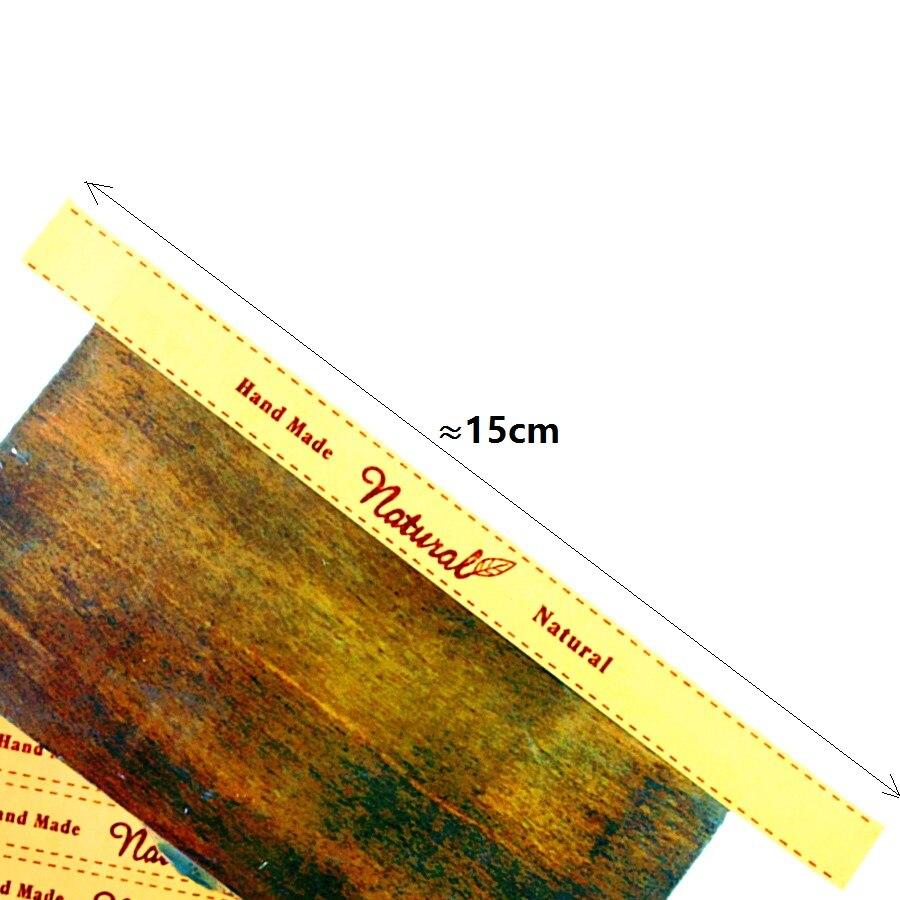 artesanato papel feito à mão adesivo de