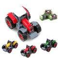 1: 64 Aleación Hot wheels Tractor Agricultor Coche Camión Aleación a Troquel Modelo Modelos Auténticos Regalos de Cumpleaños Juguetes Para Niños colección