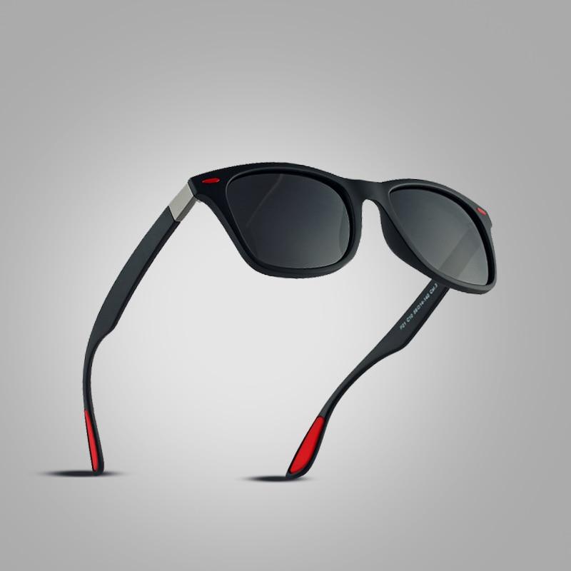 Square Frame Sun Glasses Male Goggle
