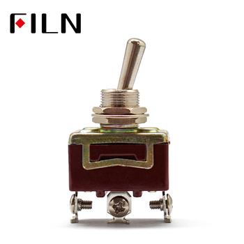 Silver Contacts high quality 3 screw  toggle switch,ON ON, ON OFF ON,  15A 250V кнопка антивандальная o19 12в б фикс 5с on off off on синяя rexant