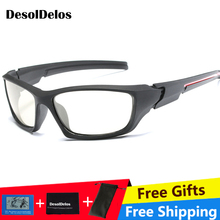 Mens Outdoor Driving Fishing Sunglasses Transition Lens HD Polarized Photochromic P009