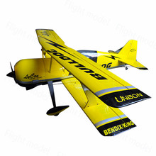 F126 PITTS 2400mm 94.5″ 100CC Huge Dual Wings Gasline Fixed Wing 3D flight RC Airplane