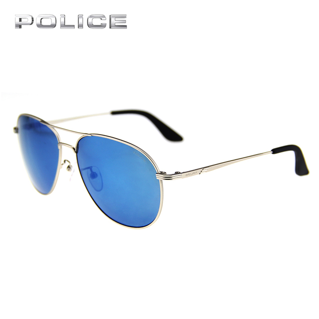 0dc54547602 POLICE UV400 Aviator Metal Frame Sunglasses Women Men Brand Designer Vintage  Luxury Pilot Driver Sport Sunglasses SPL115G