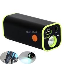 USB Điện Di Động Ngân Hàng 4 X Bộ Sạc Pin 18650 Hộp Ốp Lưng Giá Đỡ Thả Vận Chuyển