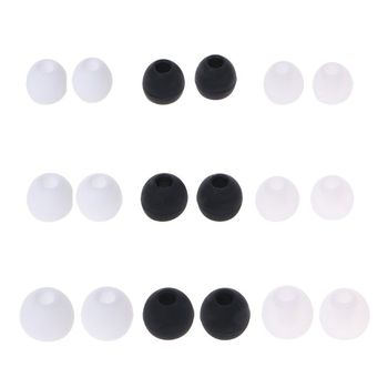 10 Pcs Earplug Cover Earphone Case for Xiaomi AirDots Youth Version for Airdots Pro TWS Wireless Earphones 4.0mm In-ear Earphone image