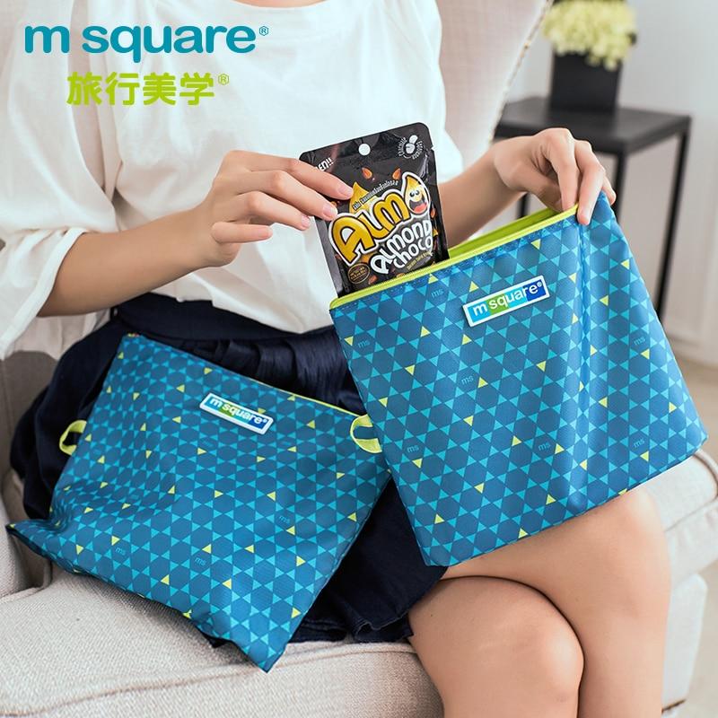 M Square Travel Accessories for Storage Bag Organizer Waterproof Clothing Storage Organizer Underwear Bag Luggage Pouch Kits