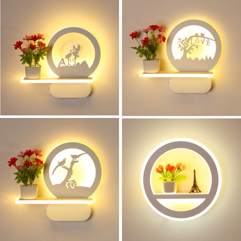 28W 30W led wall lights for home bedroom bedside wall sconce indoor modern wall lamps acrylic lamp bathroom corridor lighting