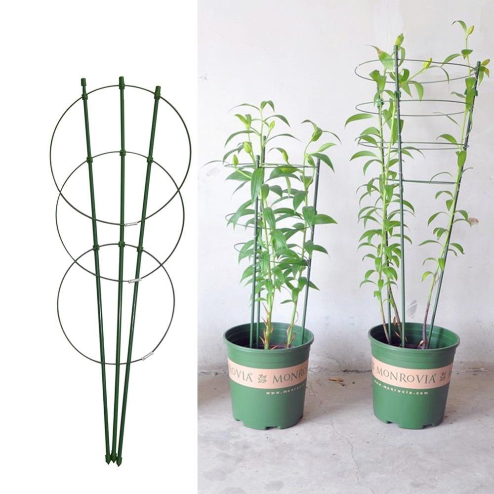 45cm/60cm Climbing Vine Rack Plant Potted Support Frame 1Pc