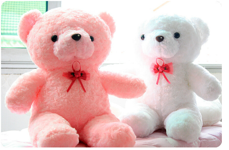 Cute Teddy Bear Biscus Emitters Plush Doll Birthday Gift Valentine's Day Gifts Children Girlfriend Creative Gifts No.001-in Stuffed & Plush Animals from ...