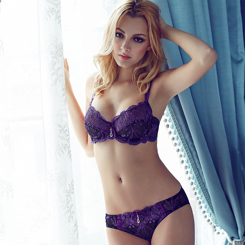 Sexy purple bra