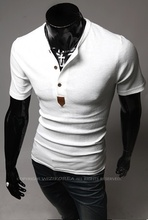 Zogaa New Men Henley Shirt Tee Tops Long Sleeve Stylish Slim Fit T-shirt Button Placket Casual Outwears Popular Design