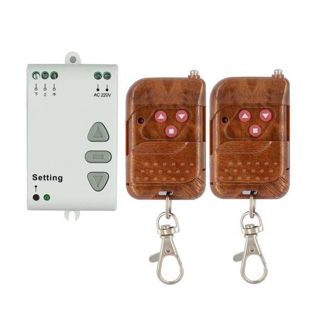 Interrupteur de télécommande sans fil RF 220V, 220V, interrupteur de télécommande, haut/bas, 315/433MHZ, interrupteur avant et arrière