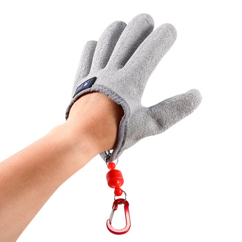1pc Outdoor Fishing Gloves Left Hand Anti-Slip Gloves Sport Fishing Equipment For Fisherman with Magnetic Hooks Hunting Glove