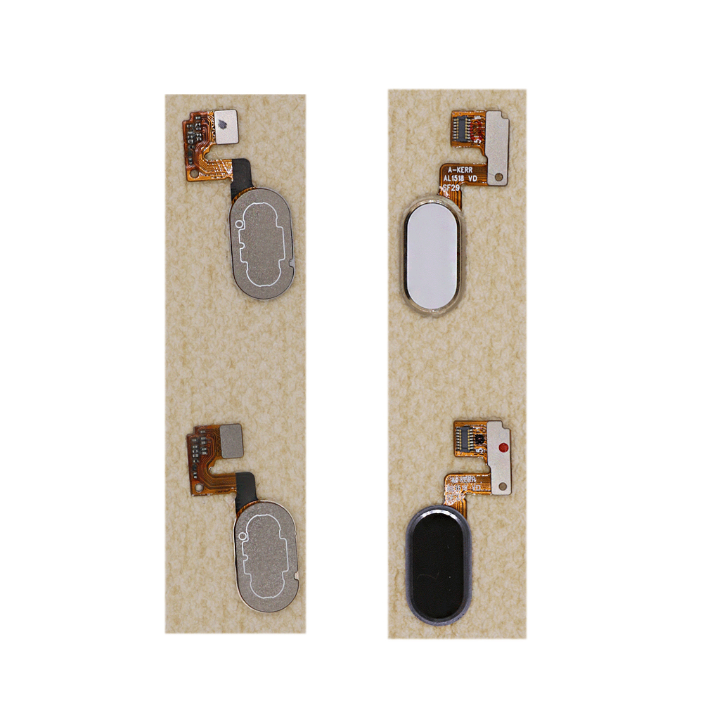 "Replacement Home key home Button Key With Flex Cable For 5.5"" Meizu M3 Note Or L681H Gold or white or Black Smartphone"