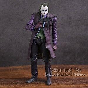 """Image 2 - Neca dc comics bruce wayne superman o joker pvc figura de ação brinquedo colecionável 7 """"18cm"""