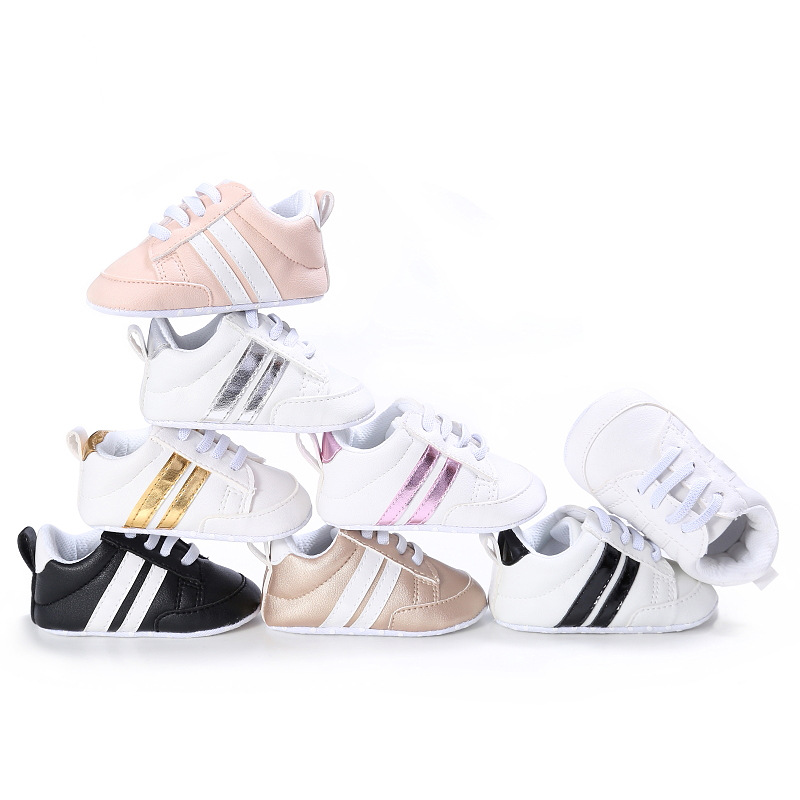 2019 New Fashion Sneakers Hot Sale Bebes Newborn Baby Crib Shoes Boys Girls Toddler Soft Sole First Walkers Baby Striped Shoes2019 New Fashion Sneakers Hot Sale Bebes Newborn Baby Crib Shoes Boys Girls Toddler Soft Sole First Walkers Baby Striped Shoes