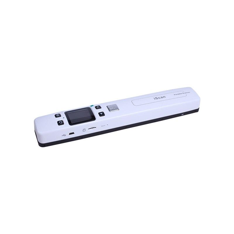 Ad alta Velocità Scanner Portatile Documento di Formato A4 Scanner 1050 DPI JPG/PDF di Sostegno 32G Carta di TF Mini Scanner penna con Pre Guarda la Foto - 2