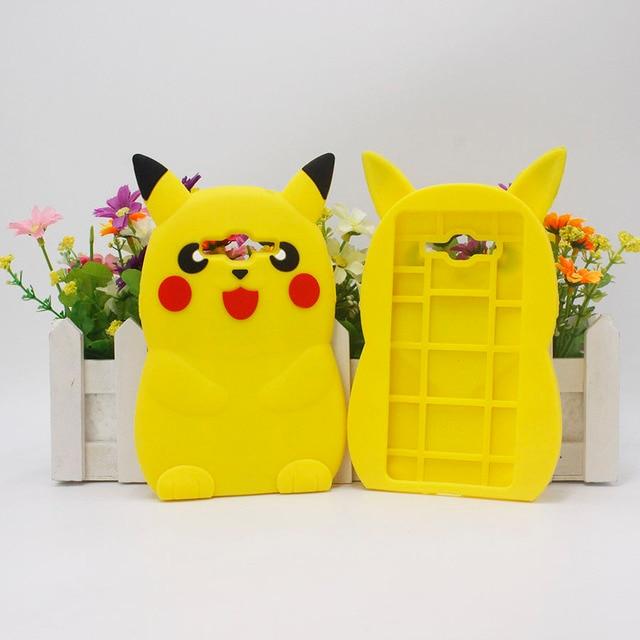 3D Phim Hoạt Hình Pikachue Mềm Silicone Cover Quay Lại Trường Hợp Đối Với Samsung Galaxy Đại Prime G530 G531F G531H Gran Prime Duos SM-G530H vỏ