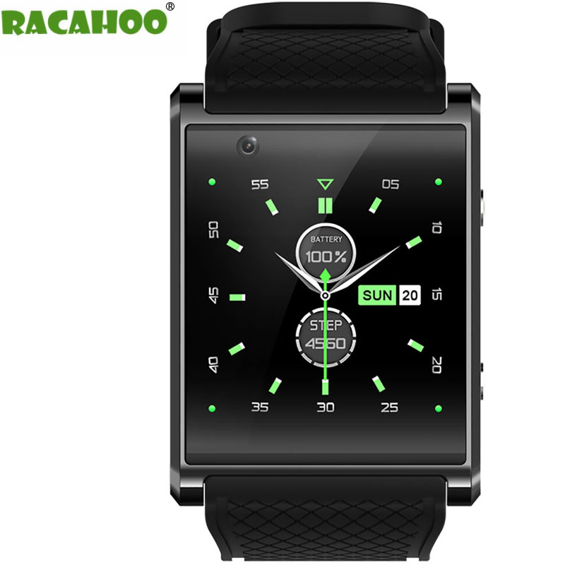 RACAHOO Smart Watch Bluetooth Bracelet 3G SIM Card WIFI Pedometer GPS Fitness Tracker Camera Smartwacthes For IOS Android Xiaomi детская игрушка new wifi ios