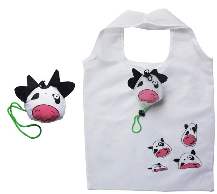 1 Pcs Neue Mehrweg Handtasche Einkaufstasche Lagerung Reisen Tier Einkaufstasche Reise Verpackung Organisatoren Freies Verschiffen StraßEnpreis
