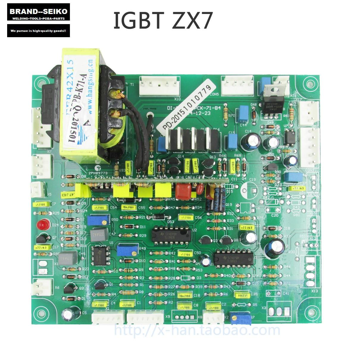 IGBT inverter dc kézi hegesztőgép ZX7 alaplap javító NYÁK - Hegesztő felszerelések - Fénykép 1