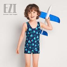 Июля песок новые летние дети купальники быстросохнущая Пляж Купальник милый мультфильм дети B025