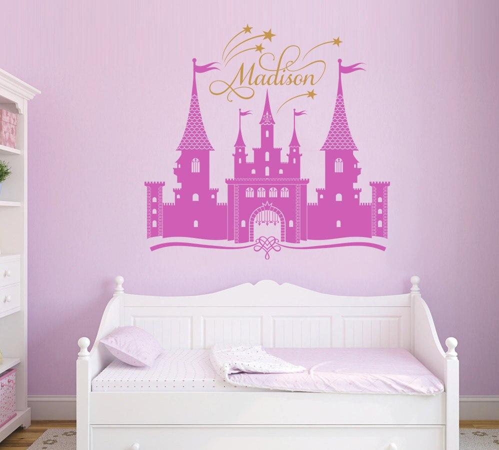 pegatinas de vinilo para la princesa perfecta calidad personaliz la habitacin nias dormitorio decoracin mural decal