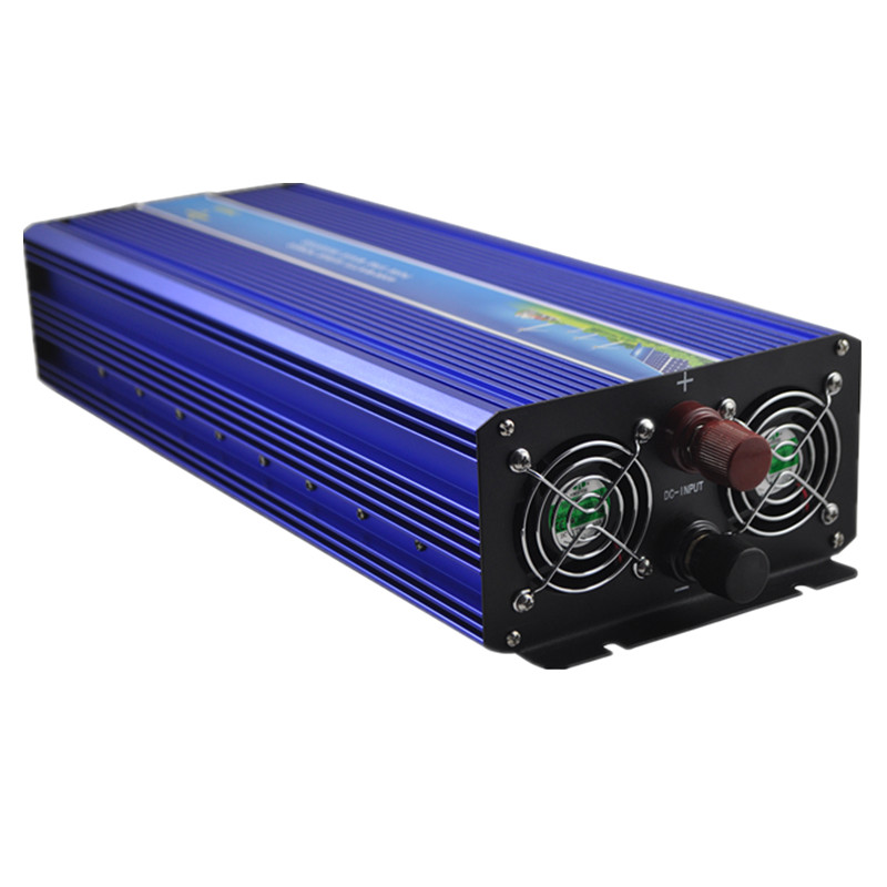 цена на Off grid 4000w Peak power inverter 2000W pure sine wave inverter 12V DC TO 220V 50HZ AC Pure Sine Wave Power Inverter
