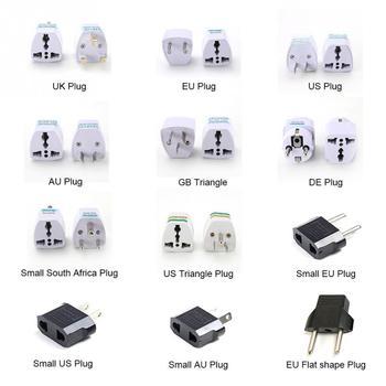High Quality Practical Universal EU UK AU to US USA AC Power Adapter Travel Plug Converter 2 Flat Pin 電動 鼻水 吸引 器 メルシー ポット