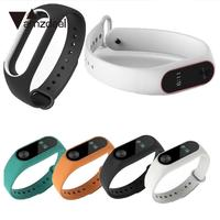 Amzdeal Ideal Replacement Wristband Smartband Strap Buckle Adjusted for Xiaomi for Mi Band 2 Durable Multicolor