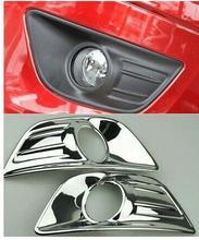 ABS for 2008-2011 Citroen C-quatre Chrome Front Fog light Lamp Cover Trim