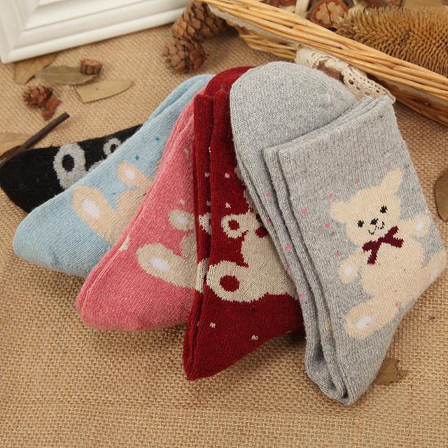 Set of Warm Woolen Socks