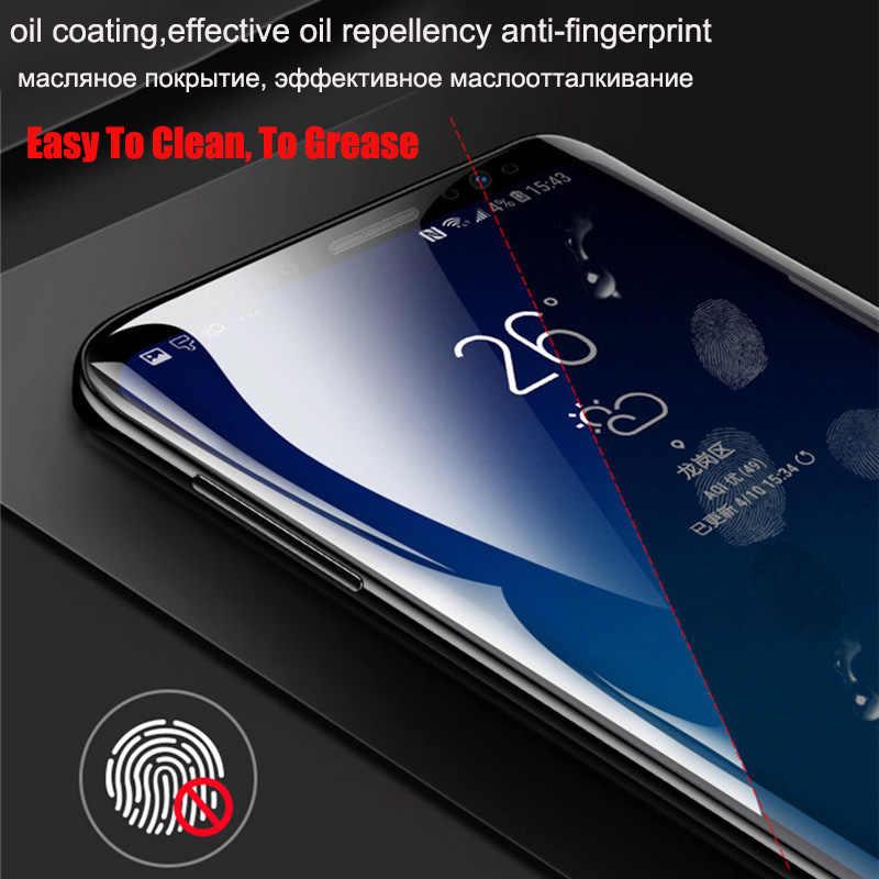 9D غطاء كامل هيدروجيل فيلم لسامسونج غالاكسي ملاحظة 8 9 S9 لينة واقي للشاشة لسامسونج S10 S9 S8 S7 s6 حافة زائد لا الزجاج
