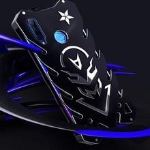 Металлический Алюминиевый Чехол для Honor V20 сверхмощный чехол для Honor 20 pro 20i Zimon чехол для Honor 9i сверхмощный черный чехол